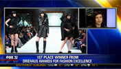2017 Driehaus Awards for Fashion Excellence Winner Anna Loosli Visits FOX 32 Chicago