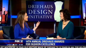 Driehaus Design Initiative Visits FOX 32 Chicago to Promote 2015 Driehaus Awards for Fashion Excellence